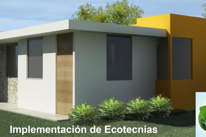 Imagen alusiva a la nota Promueve la SICYT el modelo de vivienda sustentable