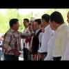Entrega de apoyos a pescadores de la laguna de Cajititlán