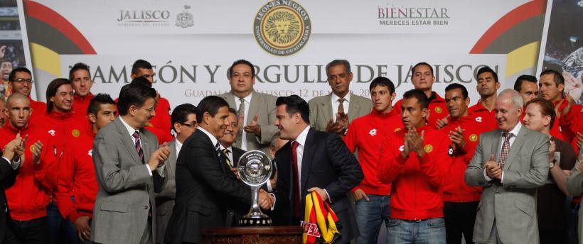 Jalisco: Felicita Gobernador a Leones Negros por su campeonato