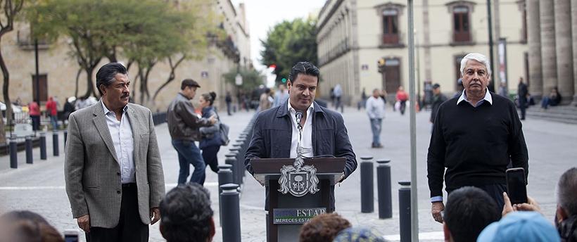Inaugura Gobernador del Estado la primera Zona 30 en Guadalajara