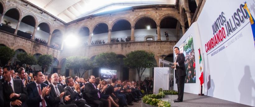 Destaca Gobernador del Estado avances tangibles en el proceso del cambio de Jalisco
