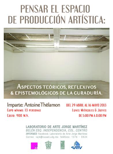"""Invitan a """"pensar el espacio de producción artística"""" en un taller"""